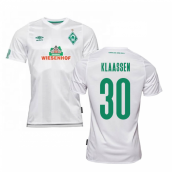 2019-2020 Werder Bremen Away Football Shirt (KLAASSEN 30)