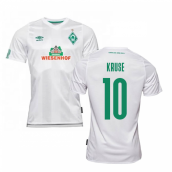 2019-2020 Werder Bremen Away Football Shirt (KRUSE 10)
