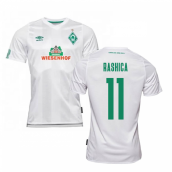 2019-2020 Werder Bremen Away Football Shirt (RASHICA 11)