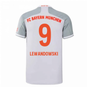 2020-2021 Bayern Munich Adidas Away Shirt (Kids) (LEWANDOWSKI 9)