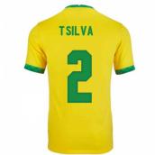 Thiago Silva Football Shirt   Official Thiago Silva Soccer Jersey