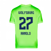 2020-2021 VFL Wolfsburg Home Nike Football Shirt (ARNOLD 27)