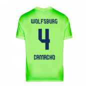 2020-2021 VFL Wolfsburg Home Nike Football Shirt (CAMACHO 4)