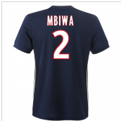 2017-2018 Lyon Adidas Away Shirt (Mbiwa 2)
