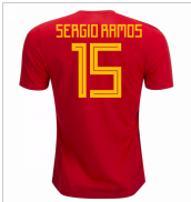 2018-19 Spain Home Shirt (Sergio Ramos 15)