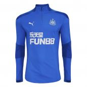 2020-2021 Newcastle Half Zip Training Top (Electric Blue)