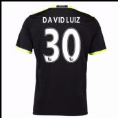 0e04bb539 2016-17 Chelsea Away Shirt (David Luiz 30) - Kids