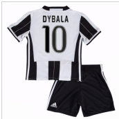 2016-17 Juventus Home Mini Kit (Dybala 10)