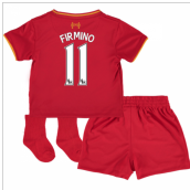 2016-17 Liverpool Home Baby Kit (Firmino 11)