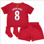 2016-17 Liverpool Home Baby Kit (Gerrard 8)