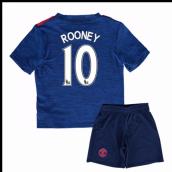 8fe9fd7d94c 2016-17 Man United Away Baby Kit (Rooney 10)