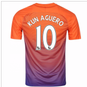 2016-17 Manchester City Third Shirt (Kun Aguero 10) - Kids