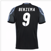 2016-17 Real Madrid 3rd Shirt (Benzema 9)