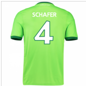 2016-17 Wolfsburg Home Shirt (Schafer 4) - Kids