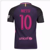 2016-17 Barcelona Away Shirt (Messi 10)