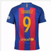 2016-17 Barcelona Home Shirt (Suarez 9) - Kids