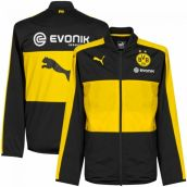 Borussia Dortmund 2016-2017 Poly Jacket (Black)