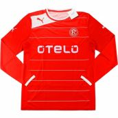 2012-13 Fortuna Dusseldorf Puma Home Long Sleeve Football Shirt