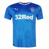 2017-18 Rangers Puma Home Football Shirt