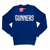 2014-15 Arsenal Puma Leisure Sweat Top (Navy)