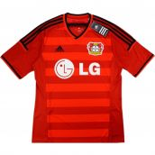 2014-15 Bayer Leverkusen Adidas Home Authentic Football Shirt