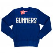 2014-15 Arsenal Puma Leisure Sweat Top