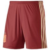 2014-15 Spain Home World Cup Football Shorts (Kids)