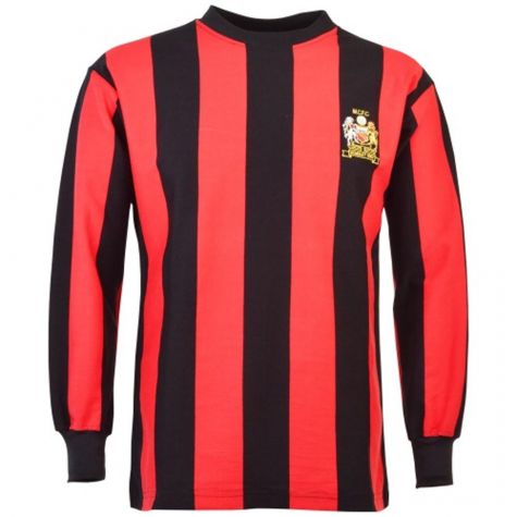 reputable site 81ef8 c0d2e Manchester City 1969 FA Cup Final Retro Football Shirt