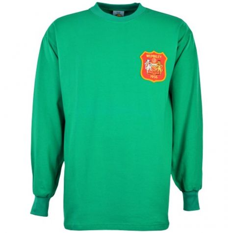 premium selection f920c e876c Manchester City FA Cup Final Retro Goalkeeper Shirt