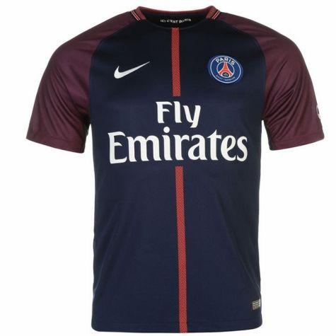 Tim Short Hazard >> PSG 2017-2018 Home Shirt (Kids) [847409-430] - $52.70 Teamzo.com