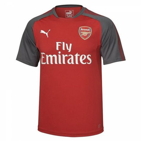 Arsenal 2017 2018 training jersey chilli pepper for Arsenal t shirts sale