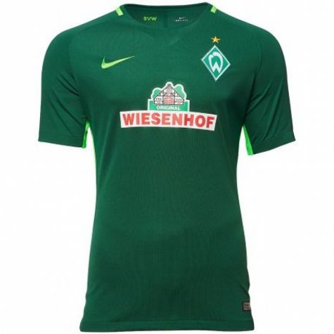 werder bremen 2017 2018 home shirt 854367 341. Black Bedroom Furniture Sets. Home Design Ideas