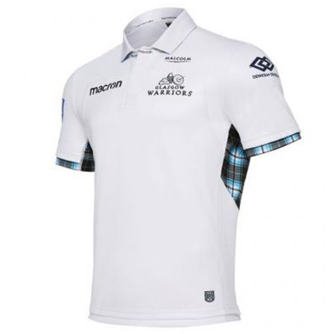 3ed07703a 2017-2018 Glasgow Warriors Alternate Pro Rugby Shirt  58083193 ...