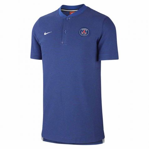 psg 2017 2018 authentic league polo shirt game royal 867821 480. Black Bedroom Furniture Sets. Home Design Ideas