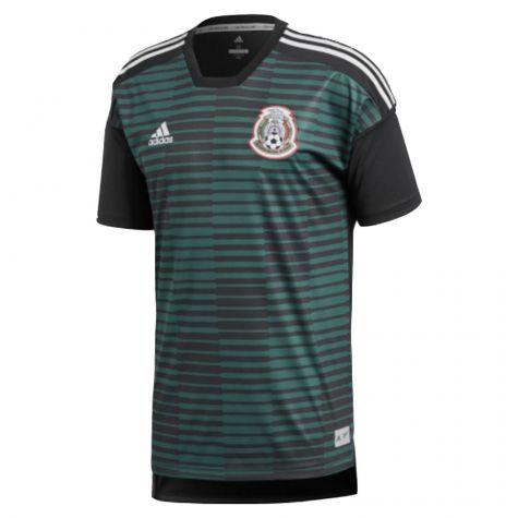 Tim Short Hazard >> Mexico 2018-2019 Pre-Match Shirt (Green) [CF1553] - $72.92 Teamzo.com
