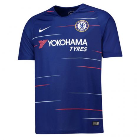 Tim Short Hazard >> Chelsea 2018-2019 Home Shirt [919009-496] - $75.64 Teamzo.com