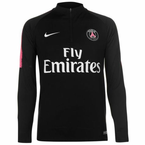 innovative design dab25 de24d PSG 2018-2019 Drill Top (Black) - Kids