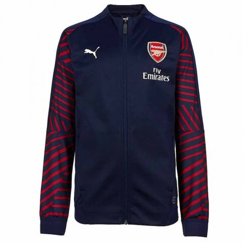 Arsenal 2018-2019 Stadium Jacket (Peacot) - Kids