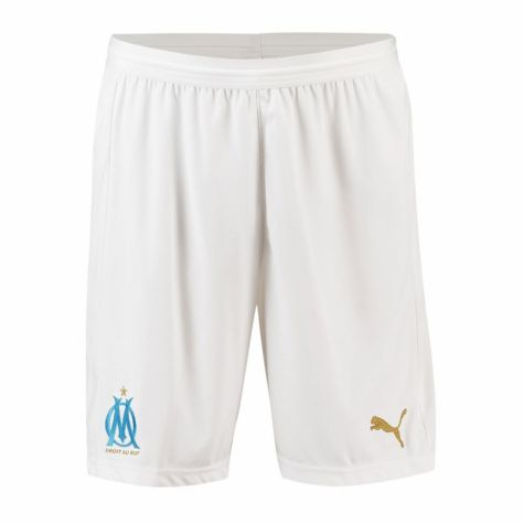 Olympique Marseille 2018-2019 Home Shorts (White)