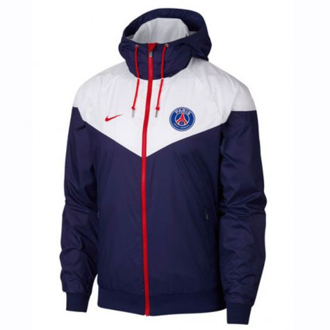 PSG 2018-2019 Authentic Windrunner Jacket (Navy)