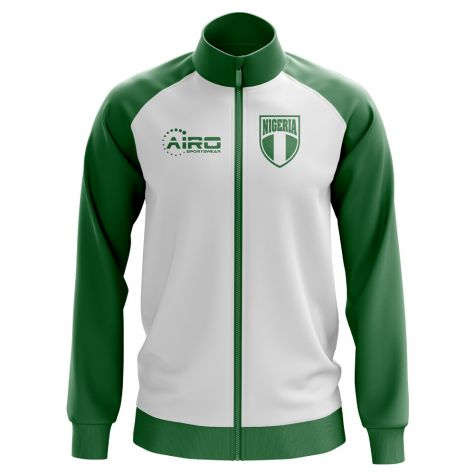 Nigeria Concept Football Track Jacket (White) - Kids