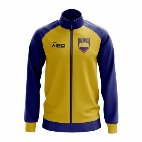 Colombia Concept Football Track Jacket (Yellow)