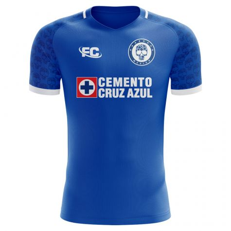 Cruz Azul 2018-2019 Home Concept Shirt