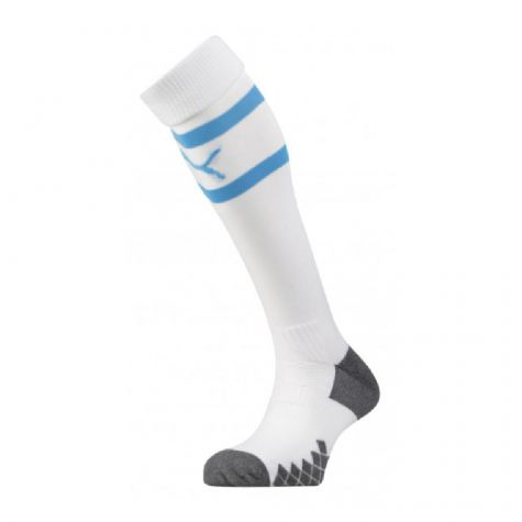 Olympique Marseille 2019-2020 Home Socks (White)