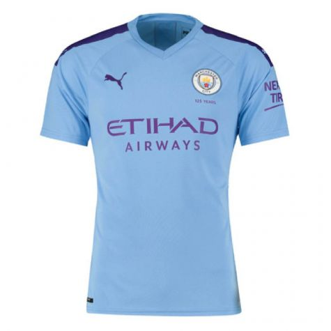 Manchester City 2019-2020 Home Football Shirt