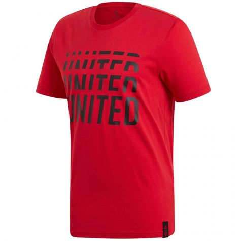 Man Utd 2019-2020 DNA Graphic Tee (Red)