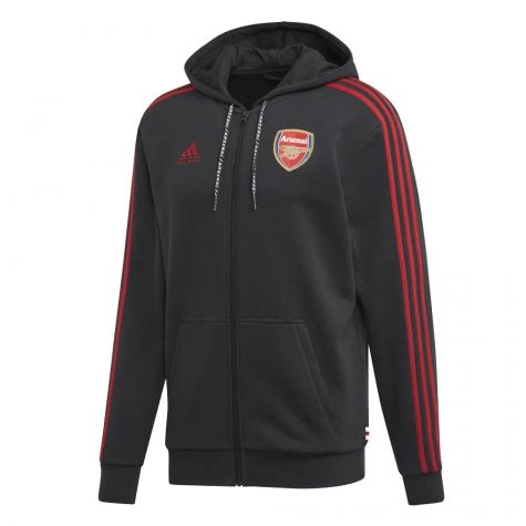 Arsenal 2019-2020 Full Zip Hoody (Black)