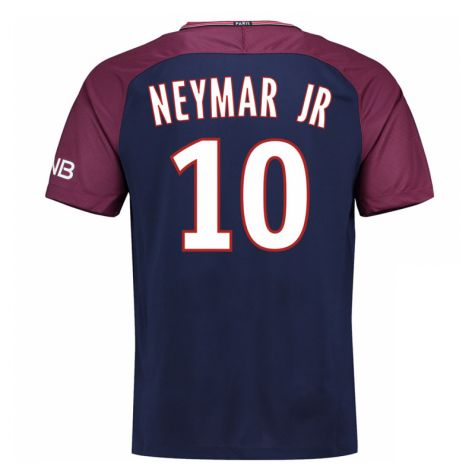 2017-18 Psg Home Shirt - Kids (Neymar Jr 10)