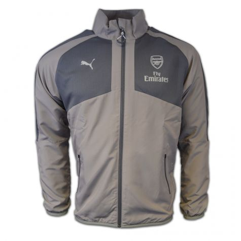 06eaa408ef38 Arsenal 2016-2017 Casual Performance Woven Jacket (Grey) - Kids ...