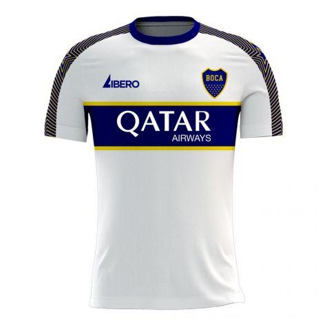 Boca Juniors 2020-2021 Away Concept Football Kit (Libero) - Kids